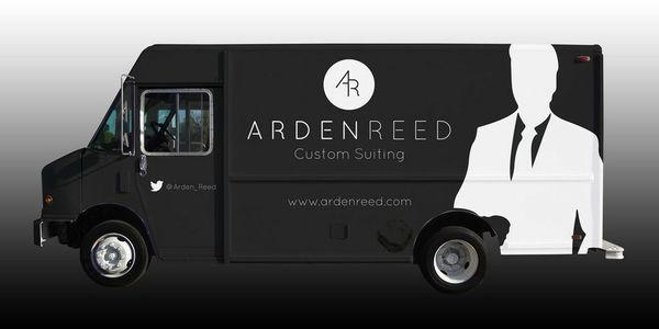 The Arden Reed Tailor Truck, custom suit, tendencias, fashion trucks, coolhunting, nethunting