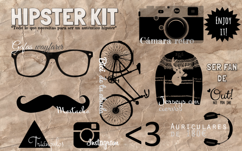 hipster kit, nethunting, tendencias, streetstyle