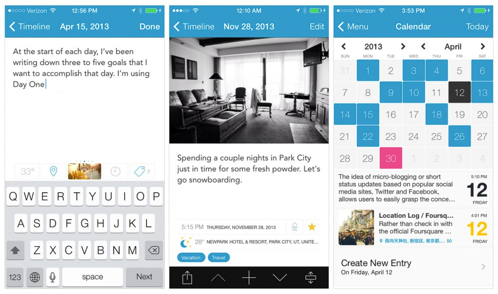 dayone, app, nethunting, coolhunting, tendencias