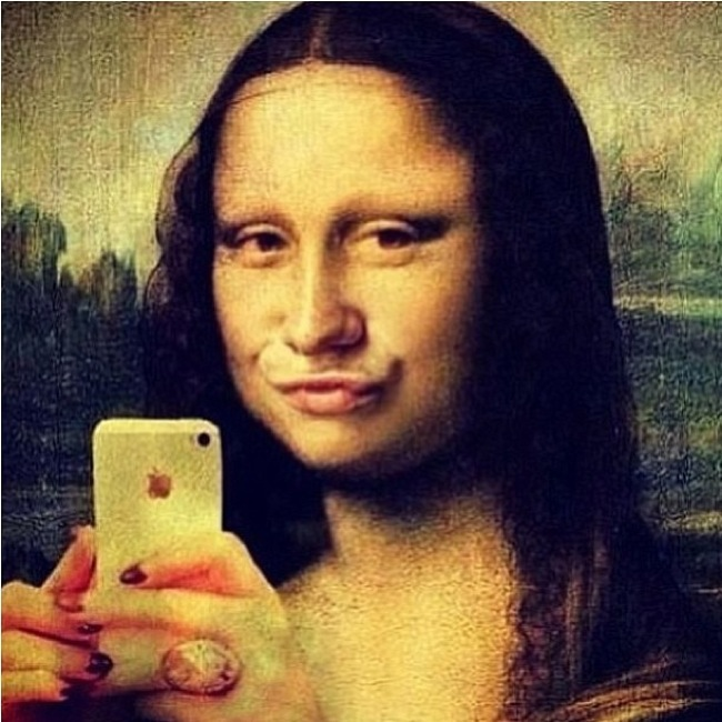Mona Lisa, instagram, arte, nethunting, tendencias - Mona-Lisa-Duckface-1