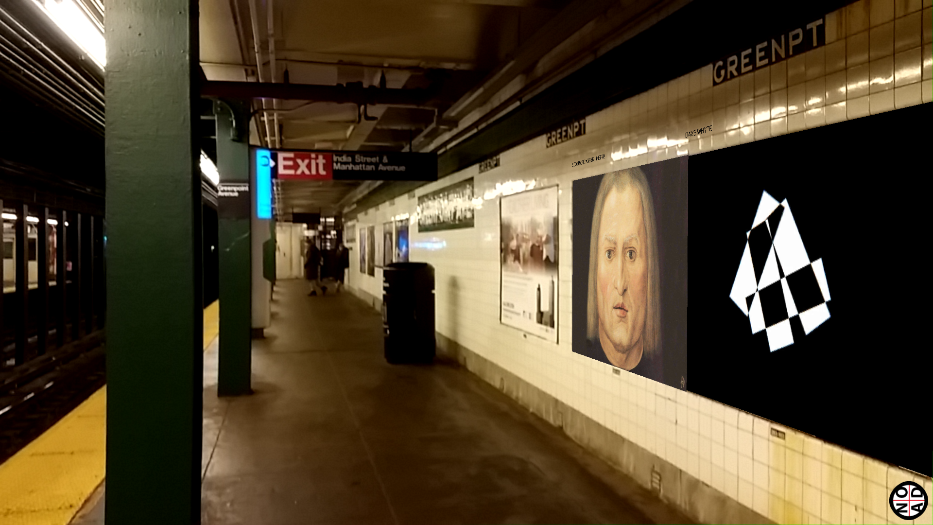 bob, subway, nyc, tendencias, nethunting, advertising, arte